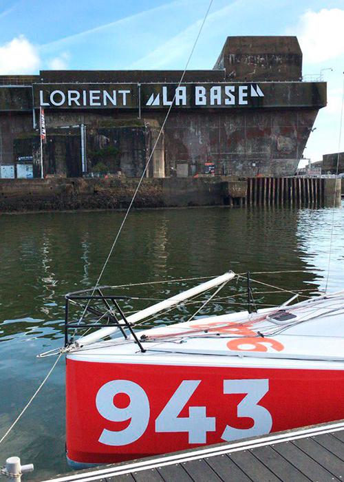 """Lorient La Base - im Vordergrund """"Vorpommern"""""""