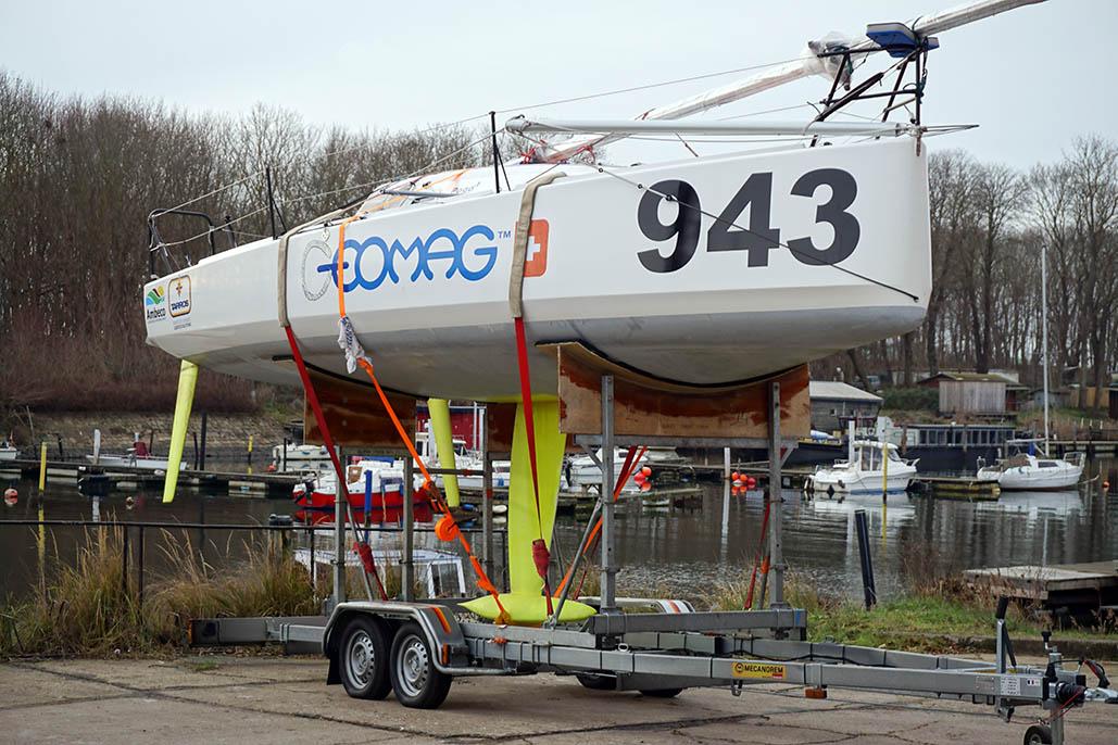 Geomag 943 ist Lennart Burkes neues Boot