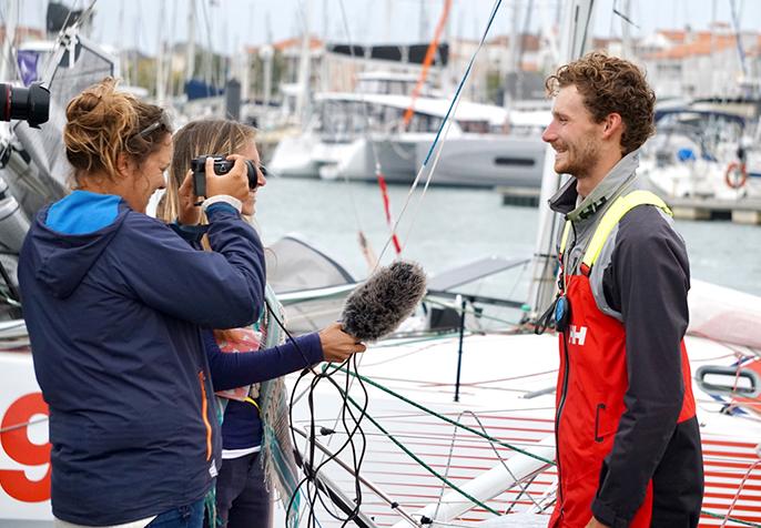 Lennart Burke SAS Morlaix 2020, Interview in Les Sable de'Olonne,