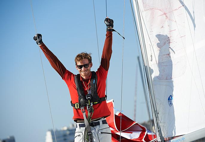 Lennart Burke mit Vorpommern auf SAS Morlaix 2020