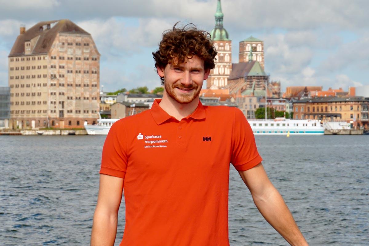 Lennart Burke going for Mini Transat 2021